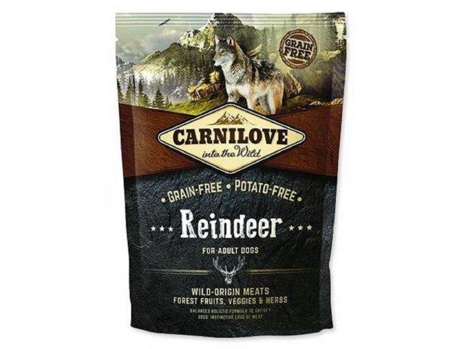 10571 carnilove reindeer for adult 1 5kg