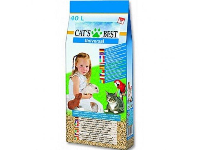 10787 cat s best podestylka universal 40 l 22 kg