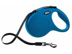 10496 5013 voditko flexi classic l 5m max 50kg pasek modra