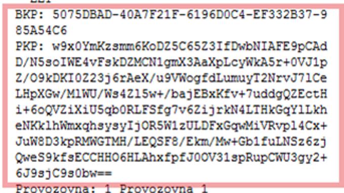 Co je to kód PKP?