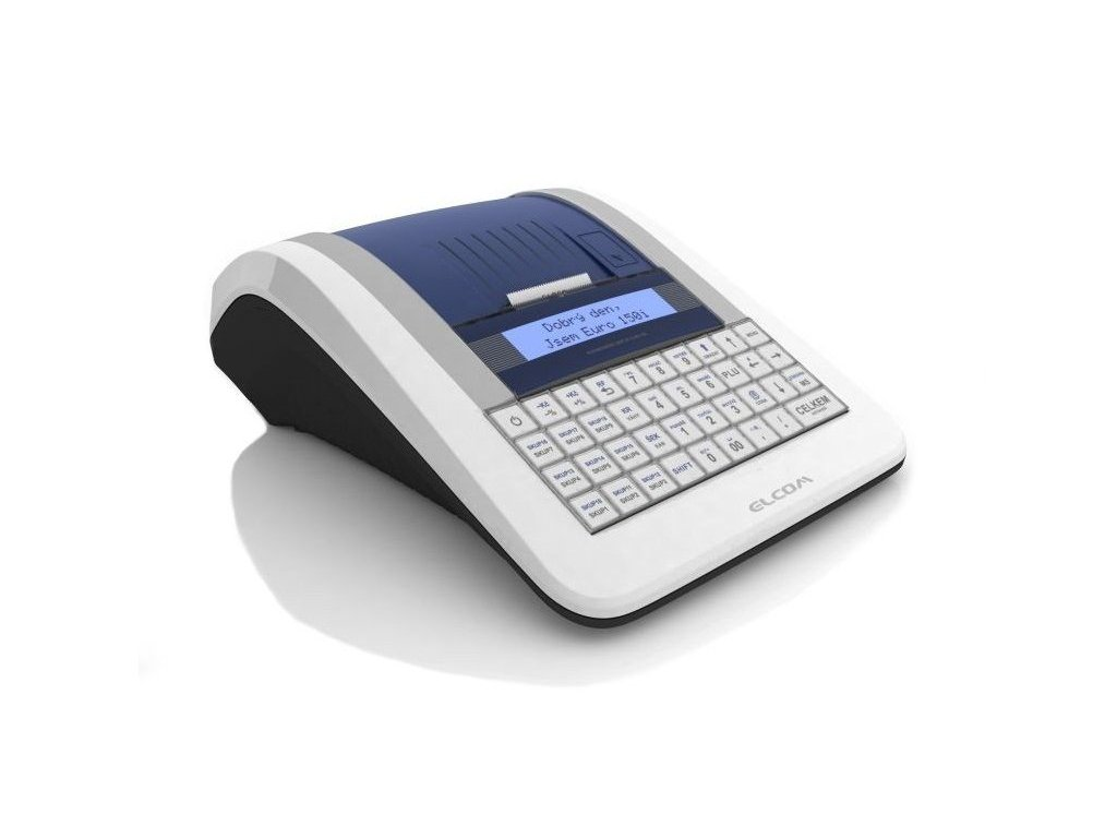 Tlačítková pokladna Elcom Euro-150TEi WiFi