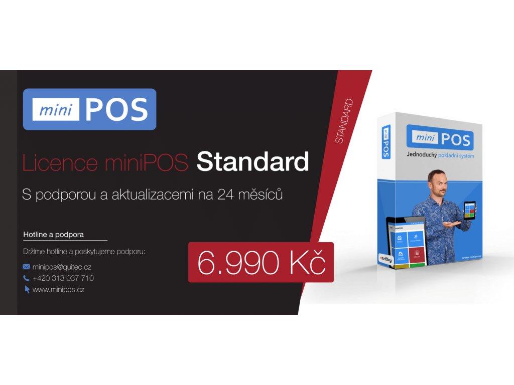 Licence miniPOS Standard na 24 měsíců