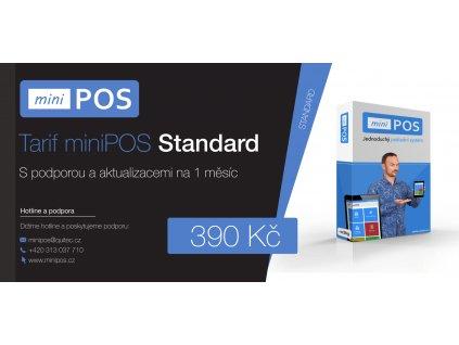 Tarif miniPOS Standard na 1 měsíc