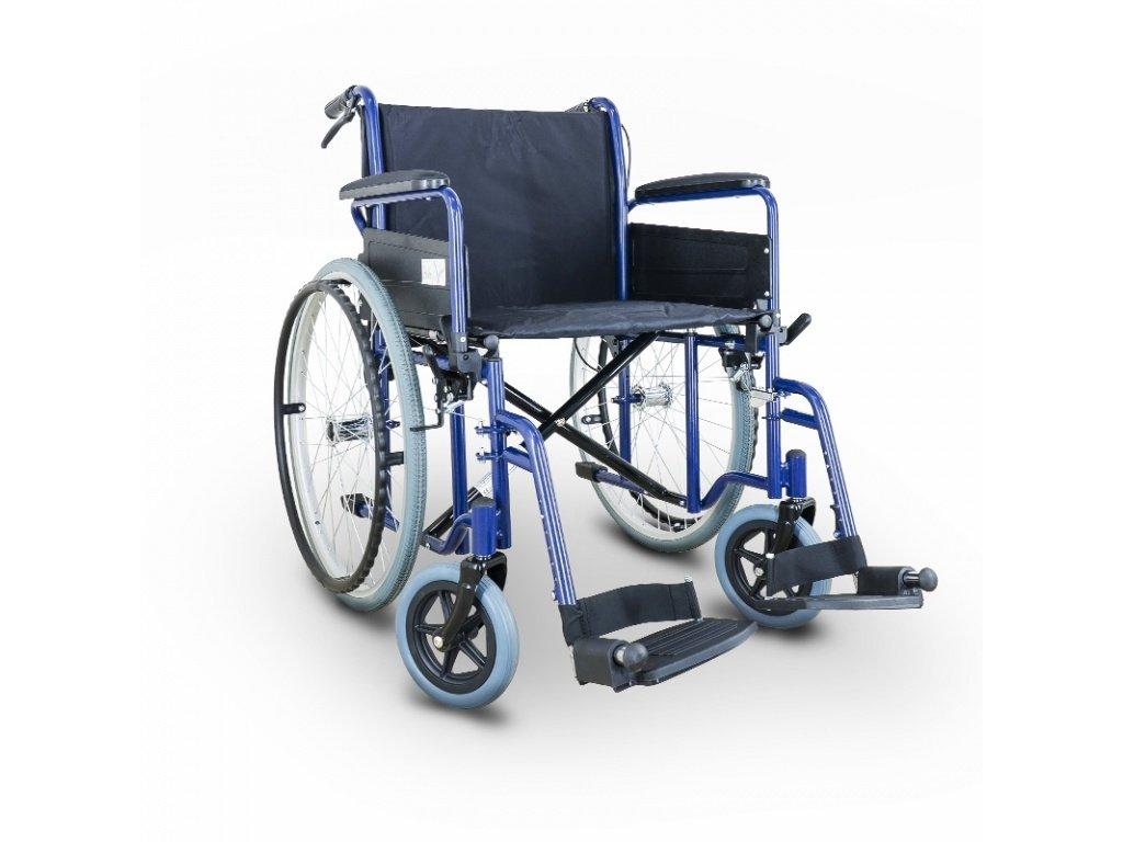 Invalidni vozík New Classic DB s brzdy pro doprovod