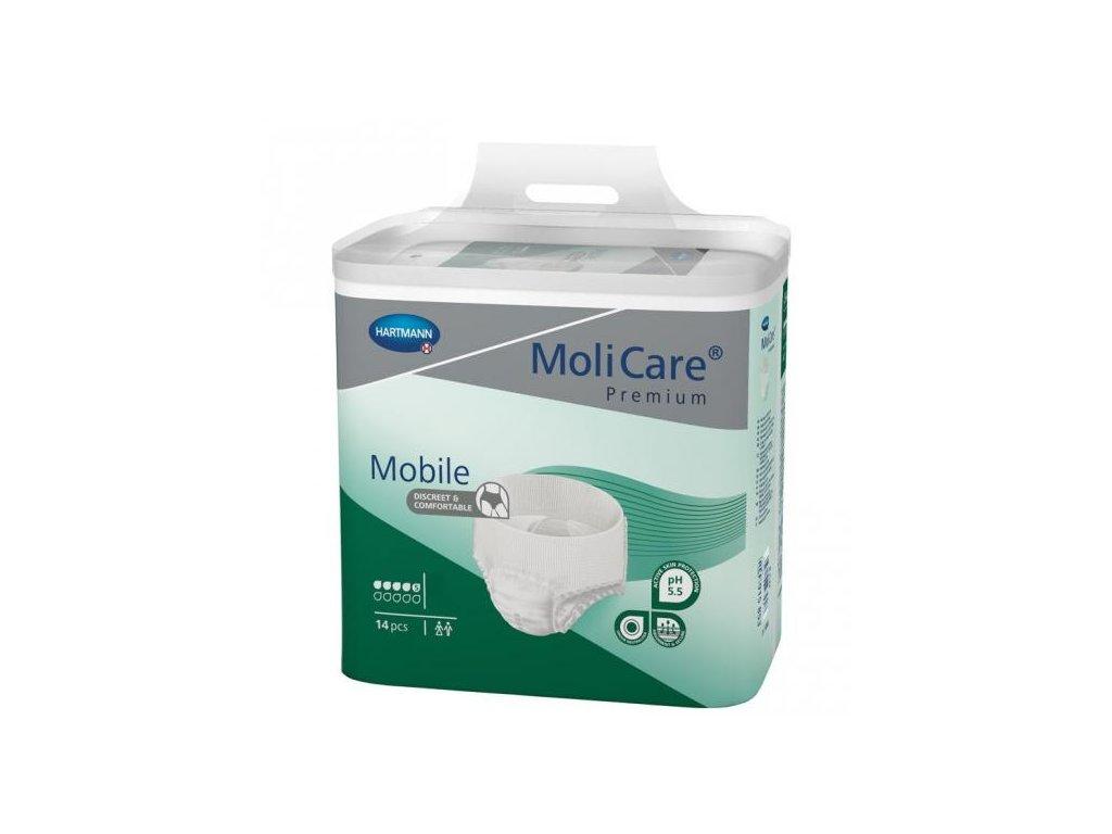 molicare mobile 5 kap m kalhotky navlekaci 14 ks 0