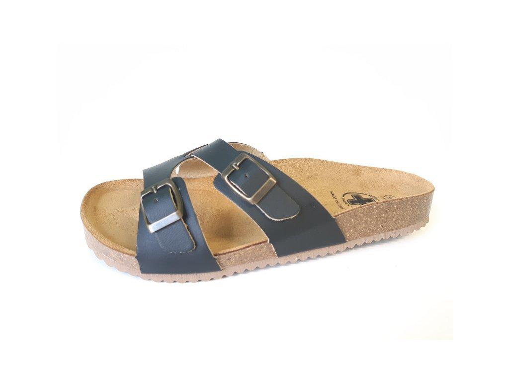 mediline damske pantofle 98 cerne