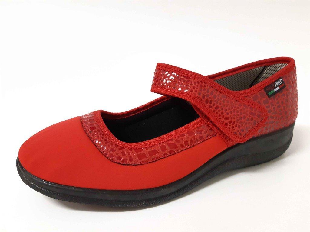 mediline damska lycrova obuv 4303 cervena 1