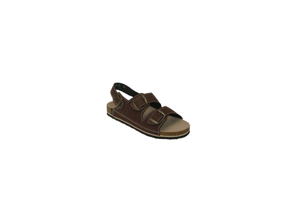 sandale hnede