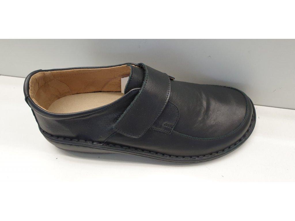 Zdravotní vycházková obuv 83015B nero nappa