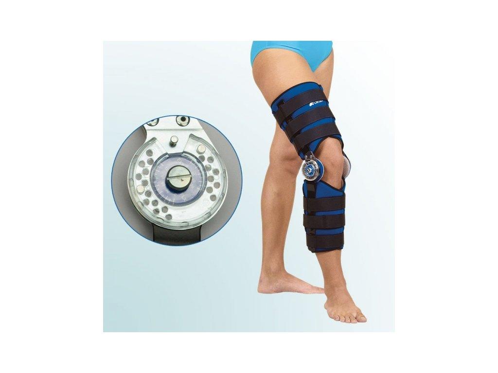 Ortéza kolenního kloubu s limitovaným rozsahem pohybu OR1