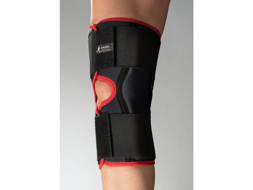 koleno s klouby