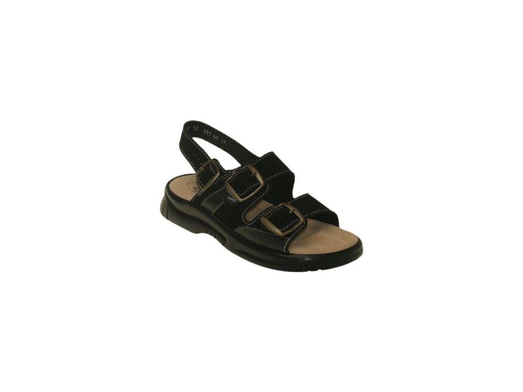 Dámský sandál s přezkami - N/517/43