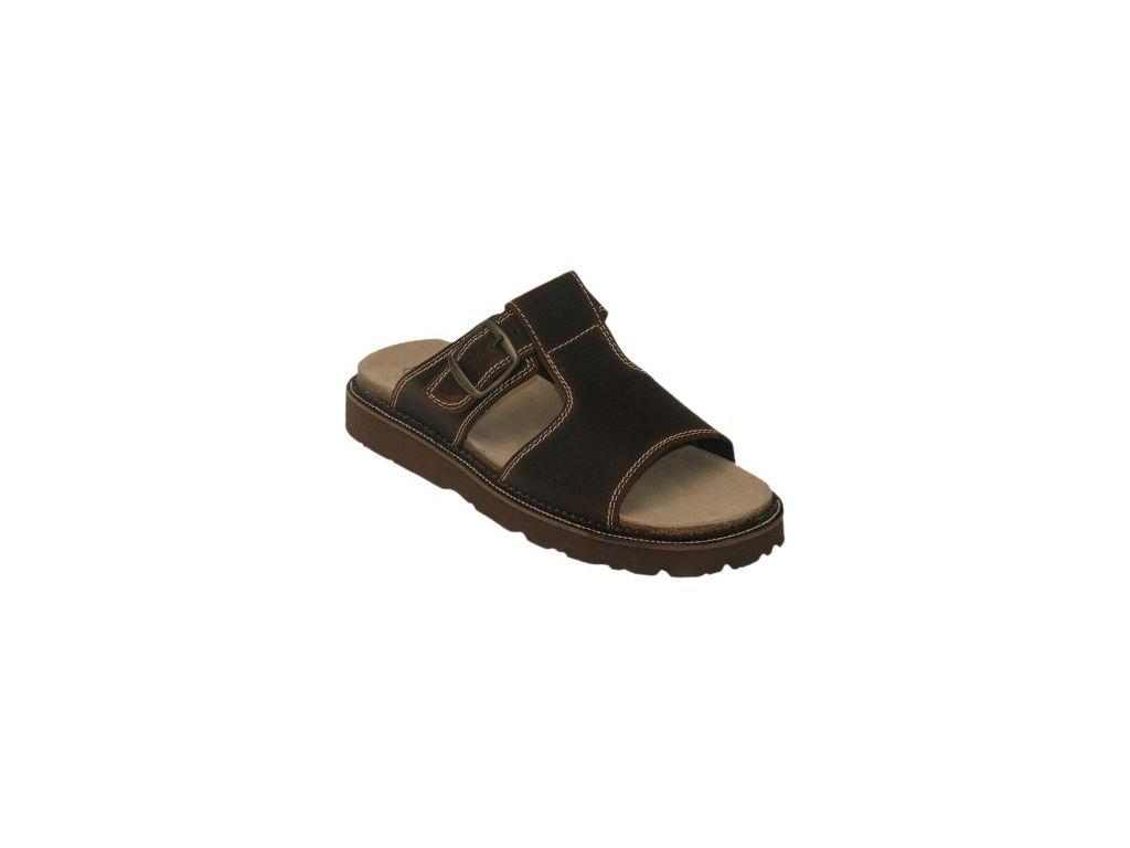 Pánský pantofel s klínkem N/560/12/59