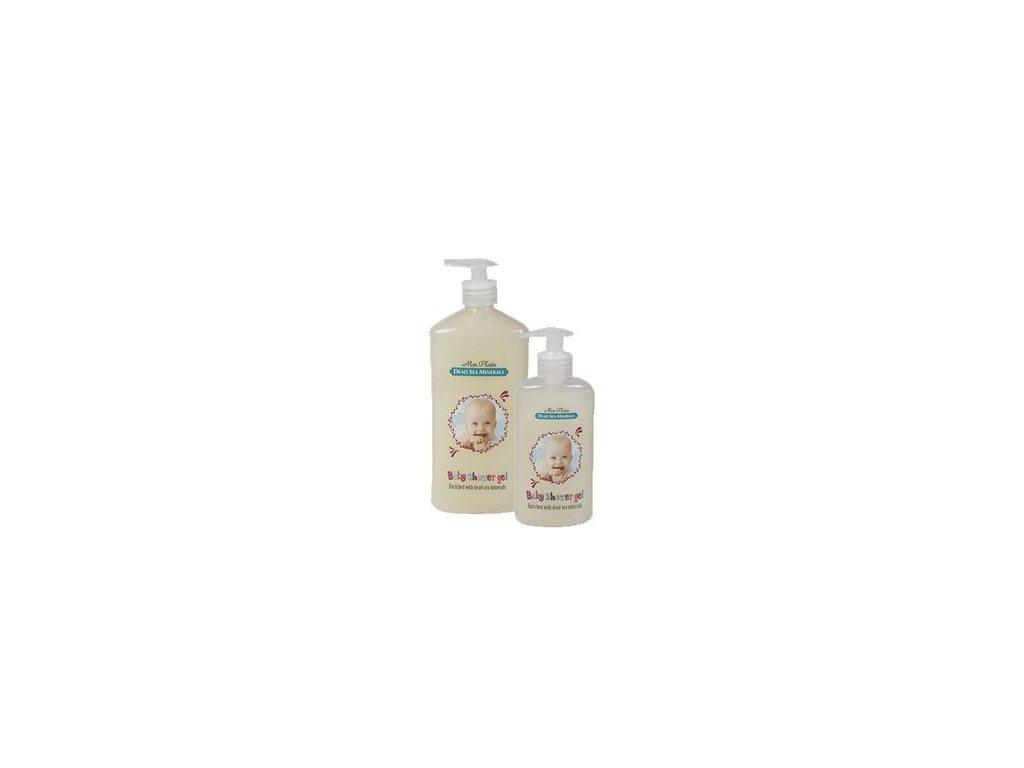 Minerální dětský sprchový gel / Mrtvé Moře / 500ml