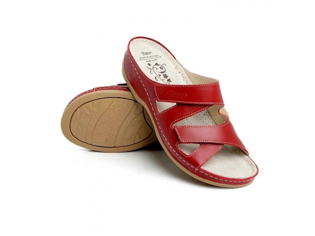 batz eni red damske zdravotni pantofle