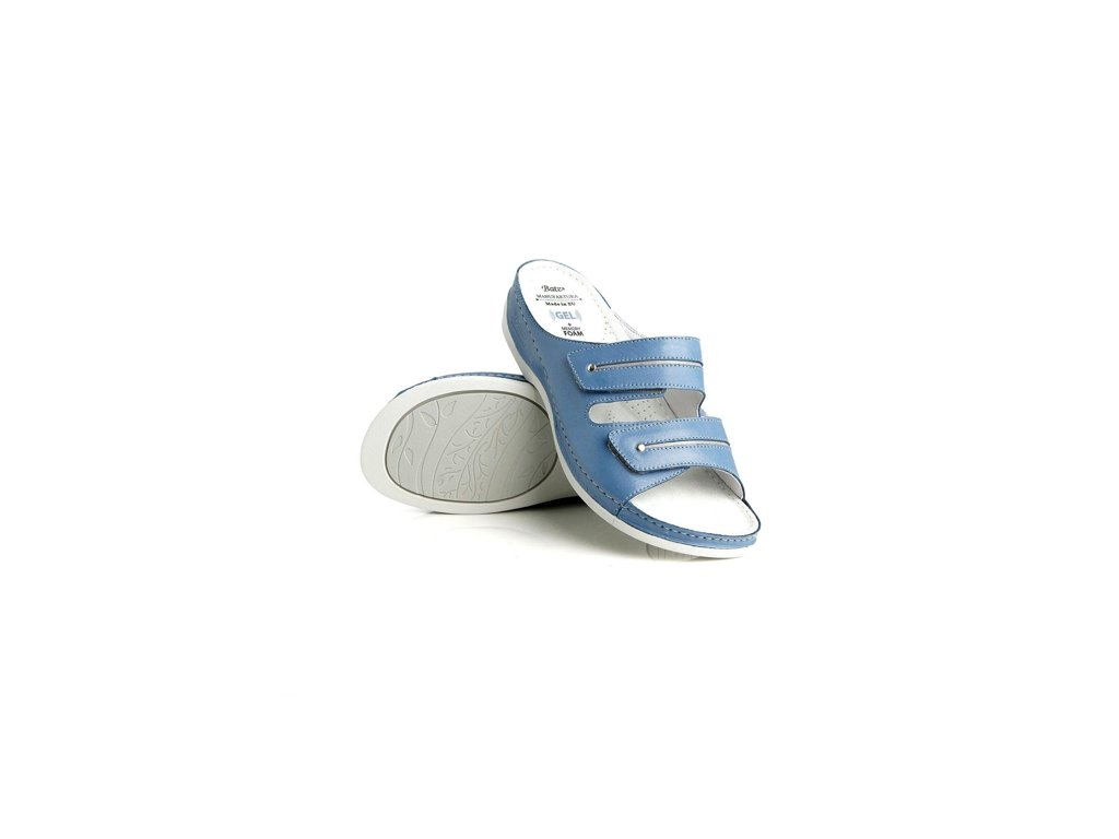 batz lia blue damske zdravotni pantofle