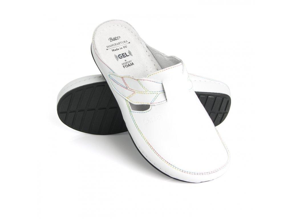 batz nlk white panska zdravotni obuv