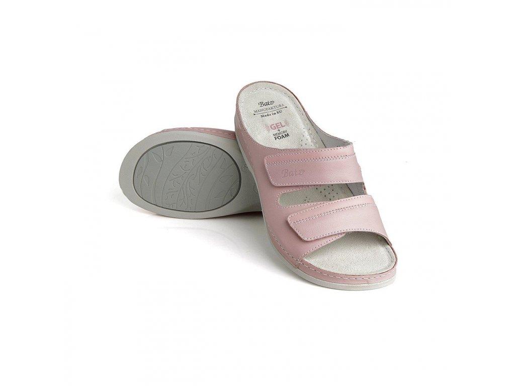 batz rea pink damske zdravotni pantofle