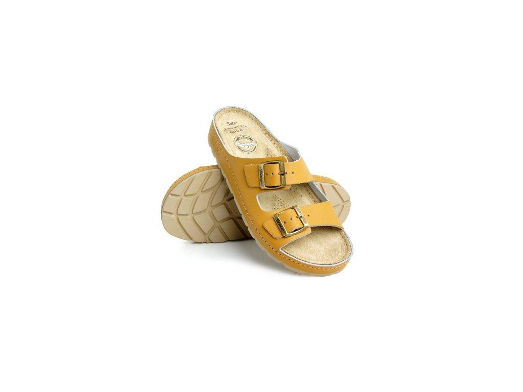 batz zenna camel damske zdravotni pantofle 510