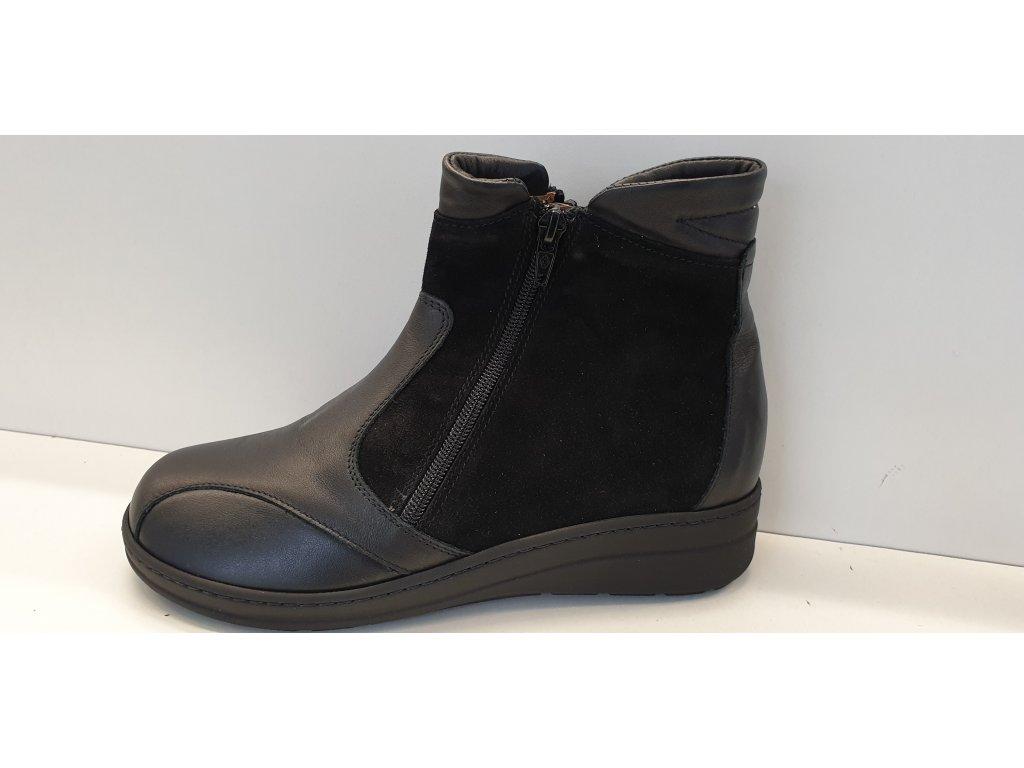 FIRÝT OBUV 54037 nero - zimní obuv vel.40