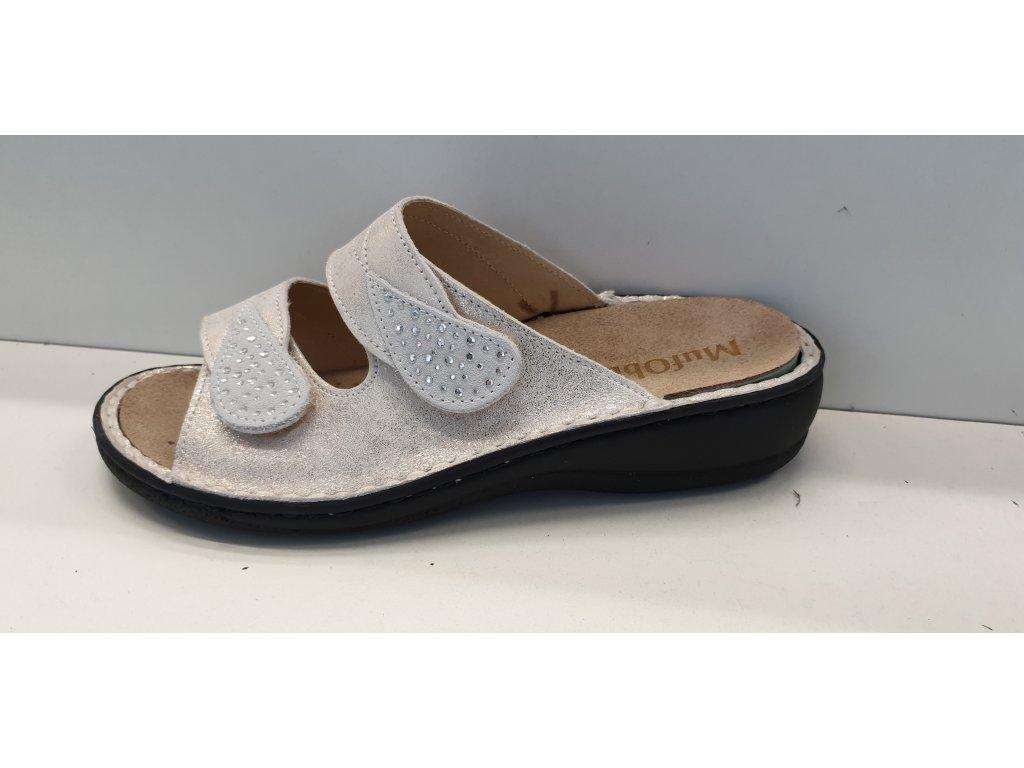 Pantofel s vyjímatelnou stélkou 84003ST/BEIGE VEL.38