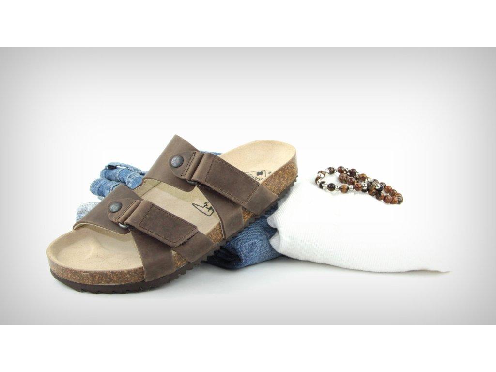 pantofle ravenna hnede 2002 r 22