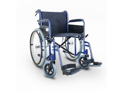 Invalidní vozík s brzdou pro doprovod New Classic DB - SIV