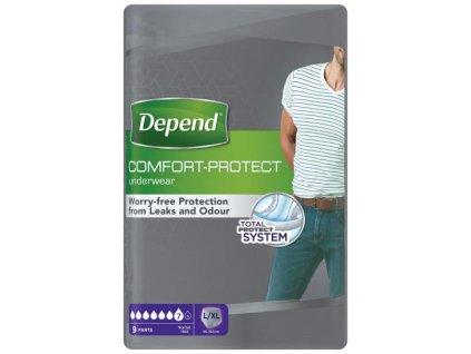 depend super l xl kalhotky navlekaci pro muze 9 ks 5010558