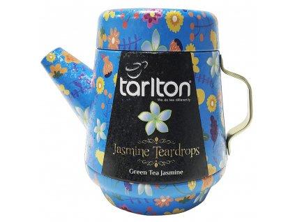 tarlton tea pot jasmine teardrops green tea plech 100g 2304937 1000x1000 fit