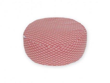 5063 1 gadeo meditacni sedak waves red(1)