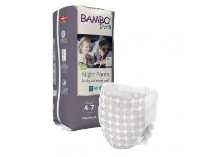 bambo dreamy medium pro divky 4 7let 15 35kg 10ks