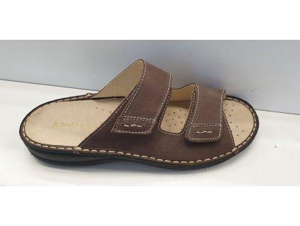 Zdravotní obuv s vyndavací stélkou U 0021 B t.moro