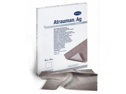 Krytí s mastí a stříbrem Atrauman Ag 10x10cm