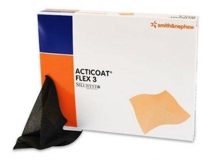 Acticoat Flex 3 krytí se stříbrem 5x5cm/5ks