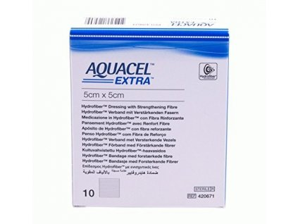 Aquacel Extra 5x5cm/10ks