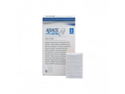 Aquacel AG +Extra 5cmx5cm/10ks hydrofiber 413566