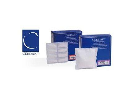 Krytí Biokeramické CERDAK Basic 10x10cm polštářek bez náplasti 10ks 5000842.