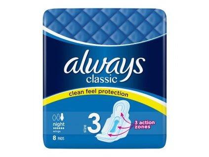 Vložky hygien.Always classic night 8ks