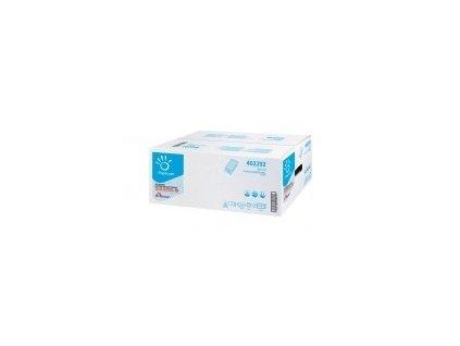 Ručník papírový Z-Z bílý V-TOP 3000ks 2-vrst. celulóza (EF202) 417215