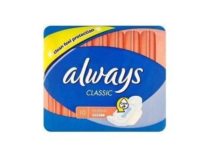 Vložky hygien. Always classic normal 10ks