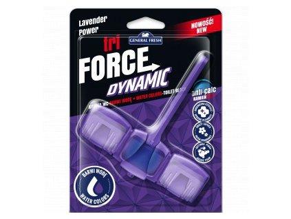 WC závěsný osvěžovač GF Tri-force Dynamic levandule