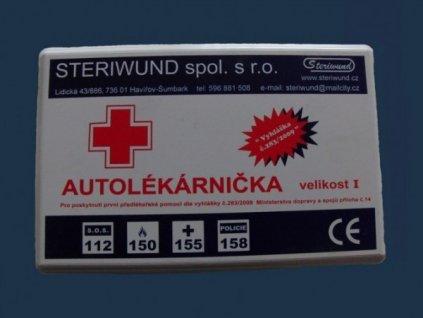 Autolékárnička TYP I plast.obal 0531(os.+nákl.auto) Vyhl.341/2014 Sb.