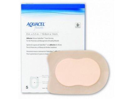 Aquacel Foam 19,8x14cm/5ks adhez. 420625
