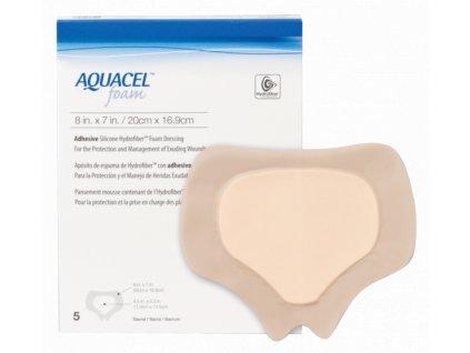 Aquacel Foam 20x16,9cm/5ks adhez. 420626