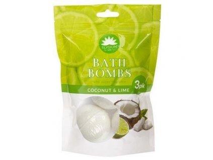 Koupelová bomba Kokos a Limetka 3x50g