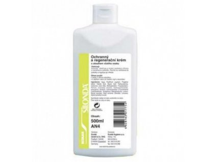 Silonda - regenerační krém 500 ml (zelená)