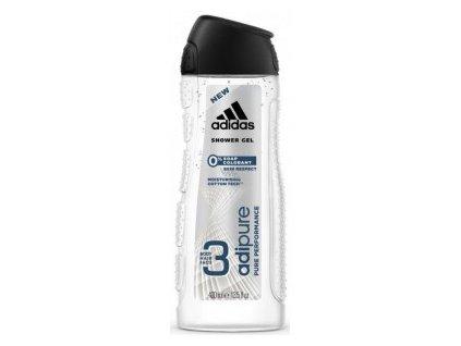 Sprch.gel Adidas men 3v1 Adipure 400ml