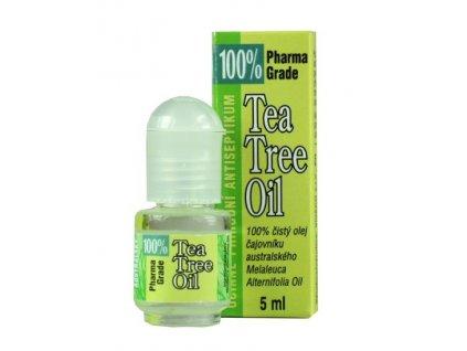 VIVACO Tea Tree oil 100% v rollonu 5ml 95000