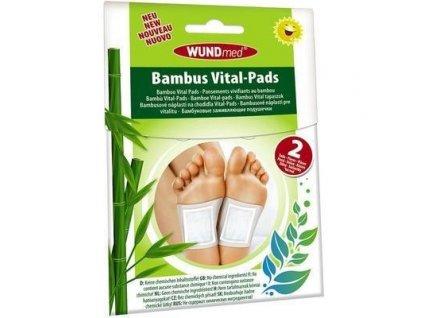 Náplast WUNDmed Detoxikační Bambus Vital 2ks