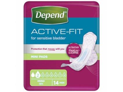 depend active fit mini damske inkontinencni vlozky 2 kapky 14 kusu 2206172 350x350 fit